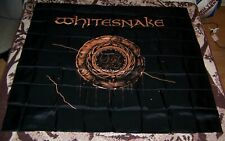 NEW Vintage 1987 WHITESNAKE LP Art Tapestry Flag Banner Poster Wall Hanging Gold