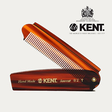 Kent Folding Pocket Comb - Large 110mm (A82T)