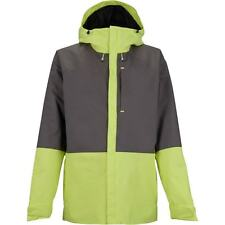 Burton Women Radar Snowboard Jacket (L) Heathers / Sunny Lime