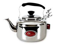 1.5L~10L Stainless Steel  Hot Water Kettle Pot With Whistle Sound NEW,Tea Kettle