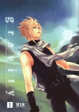 Final Fantasy 7 VII FF7 FFVII YAOI Doujinshi Dojinshi Sephiroth x Cloud gravity1