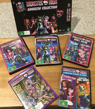 Monster high DVD's (5)