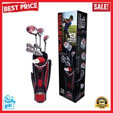 Golf Club Set For Men 13 Piece Right Handed Nitro Titanium Complete Clubs Bag