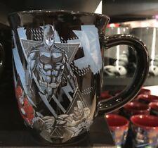 Six Flags Magic Mountain Superman Batman Flash Cyborg Justice League Mug New