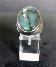 Ring Gr. 62 Silber 925 mit Labradorit