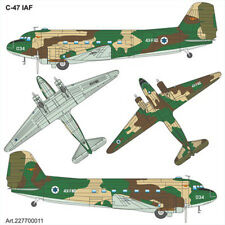 Arsenal-M HO scale DOUGLAS C-47 IAF (Israeli-Air-Force) kit