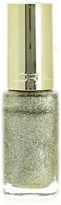 Vernis Ongles Color Riche L'oreal Paris White Gold Cosmetique Neuf Blanc & Or