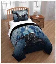 BUNDLE Marvel Black Panther Bed Twin QUILT SHEET SET PILLOWCASE Super Hero