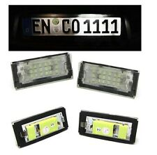 2 ECLAIRAGE PLAQUE IMMATRICULATION A 18 LED SMD BMW SERIE 3 E46 BERLINE TOURING