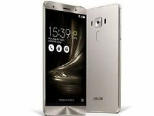 Asus ZS570KL Zenfone 3 Deluxe 4G LTE Silver 64GB 23MP Unlocked Mobile Phone