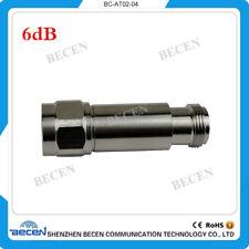 2W N 6db attenuator Free shipping N famle to female DC-3GHz 50ohm