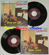 """LP 45 7"""" THE MOTELS Days are ok Slow town 1980 ITALY CAPITOL 3C 006 86161 cd*"""