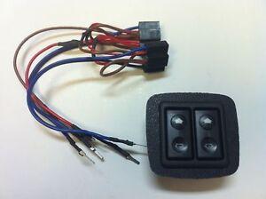 Mazda MX5 MK2 Miata Electric Window Switches & Surround