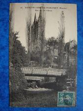 SAINT-HILAIRE-DU-HARCOUET  :  Vue sur l' Airon.......VO.1911.