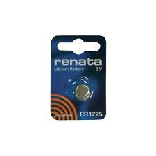 Pile Bouton RENATA CR1225 DL12250 BR1225 Pour Montre Télécommande Voiture Neuf