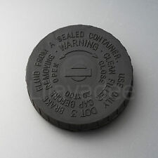 86-97 NISSAN NAVARA D21 UTE PATHFINDER BRAKE MASTER CYLINDER FLUID CAP BLACK