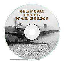 The History of the Spanish Civil War, Films, War Footage Anniversary DVD -J66