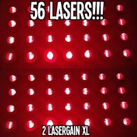LASER COMB - 2 LASERGAIN XL. HAIR GROWTH LOSS MAX RE-GROWTH TREATMENT 56 LASERS!