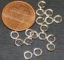 200 pcs of Silver Plated Jumpring 5mm