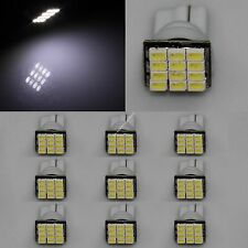 100X T10 1206 12 SMD LED 194 W5W Signal Interior Side Light Bulb Lamp White 12V