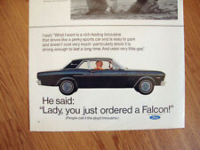1967 Ford Falcon Ad Rich Feeling Limousine