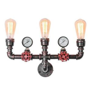 Industrial Retro Iron Loft Wall Lights Sconce Aisle/Coffee Light Fixtures