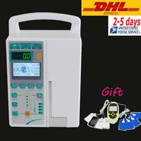 Medical Infusion IV Fluid Pump Audible Visual Alarm KVO Purge for Vet & Human