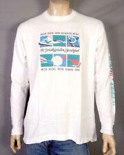 vtg 80s 90s single stitch 1990 South Walton Beach LS T-Shirt Triathlon Run sz XL