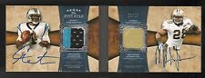 2011 TOPPS FIVE STAR ROOKIE CAM NEWTON MARK INGRAM DUAL AUTO PATCH BOOK 3/15