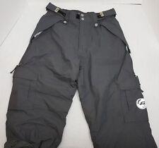 RIDE Snowboard Waterproof Snowpants in Gray Adults Size Medium