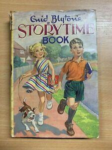 "1964 ""ENID BLYTON'S STORYTIME BOOK"" FICTION ILLUSTRATED HARDBACK BOOK (P4)"