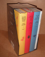 The Millennium Trilogy Boxed Set by Stieg Larsson Complete Set Hardcover New