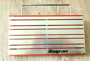 "SNAP-ON ™ Tools magnetic Tray Organizer Holder ORANGE 12"" x 6"" Easy Handle"