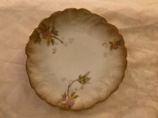 M. Redon Limoges France Ornate Hand Painted Floral Plate