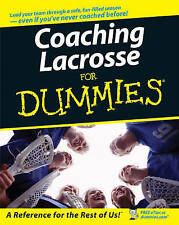 NEW Coaching Lacrosse For Dummies by National Alliance for Youth Sports
