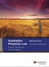Australian Property Law: Cases, Materials and Analysis by Samantha Hepburn (Pape