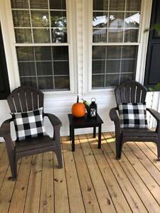 Black White Plaid Throw Covers Pillow Cushion Square Cases Farmhouse Home Decor