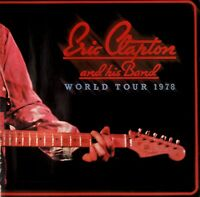 ERIC CLAPTON 1978 SLOWHAND NORTH AMERICAN TOUR CONCERT PROGRAM BOOK / EX 2 NMT