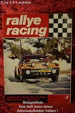 Rallye Racing 3/71 Opel Kadett 1900 BMW 2002 ti Volvo + Poster