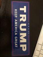 Keep America Great 2020 Trump President Make Again Car Decal Bumper Sticker