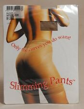 Slimming Pants Body Shaper Panty Hose Natural XX Large 22-24 Brazil New