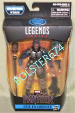 """ERIK KILLMONGER Marvel Legends M'Baku Build-A-Figure WV 2 Black Panther Movie 6"""""""