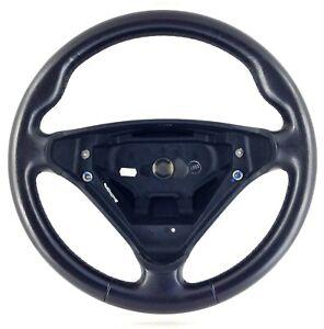 Genuine Mercedes W203 R171 SLK black leather steering wheel. BARGAIN!      9D
