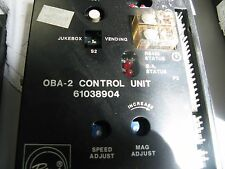 One (1) Rowe AMI OBA-2 control unit 61038904 pulled from working jukebox