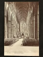 RP Vintage Postcard - London #W28 - Westminster Abbey - G Smith
