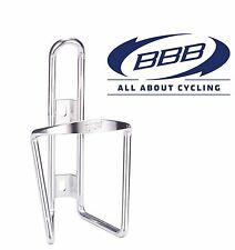 BBC-01 - ECOTANK BOTTLE CAGE (SILVER) Light weight Aluminium For Bike Bicycle