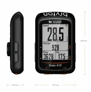 Bryton Rider 410E GPS Cycling Computer black