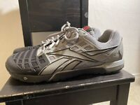 Reebok Crossfit CF7+ Nano 3.0 Training Shoes Duracage Grey Black Mens Size 9.5