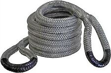 Black Kinetic Recovery Rope 9500kg 6 Metres Rubber Cover - Bubba 4WD OffRoad 4x4