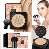 Air Cushion BB Cream Makeup Brighten Concealer Foundation+Mushroom Sponge-RO